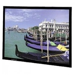 "Da-Lite - 40539 - Da-Lite Perm-Wall Fixed Frame Projection Screen - 41"" x 56"" - Da-Mat - 72"" Diagonal"
