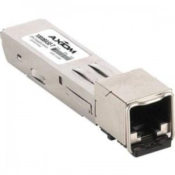 Axiom Memory - 10065-AX - Axiom 1000BASE-T SFP Transceiver for Extreme - 10065 - For Data Networking - 1 x 1000Base-T - Copper - 128 MB/s Gigabit Ethernet1 Gbit/s