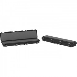 Plano Molding - 109501 - Plano Molding 109501 Field Locker Single Long MIL-SPEC Gun Case - Latching Closure - Stackable - Black - For Gun - 1 / Carton