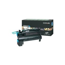 Lexmark - C792A4CG - Lexmark C792A4CG Toner Cartridge - Cyan - Laser - 6000 Pages - 1 Pack