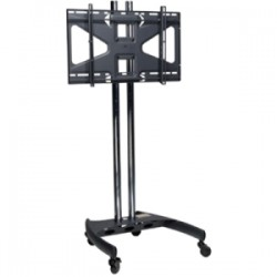 Premier Mounts - BW60-MS2 - Premier Mounts BW60-MS2 Display Stand - Up to 60 Screen Support - 200 lb Load Capacity - Flat Panel Display Type Supported - Floor Stand - Black, Chrome