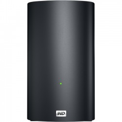 Western Digital - WDBVHT0080JCH - WD My Book Live Duo Personal Cloud Storage - 800 MHz - 2 x Total Bays - 8 TB HDD (2 x 4 TB) - Serial ATA - RAID Supported - 1 x USB Ports