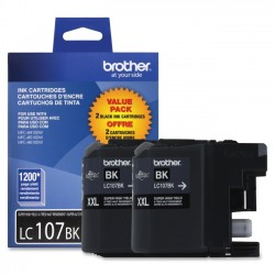 Brother International - LC1072PKS - Brother LC1072PKS - 2-pack - Super High Yield - black - original - ink cartridge - for Brother MFC-J4310DW, MFC-J4410DW, MFC-J4510DW, MFC-J4610DW, MFC-J4710DW