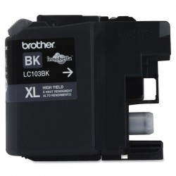 Brother International - LC103BK - Brother LC103BK - High Yield - black - original - ink cartridge - for Brother DCP-J152, MFC-J245, J285, J450, J470, J475, J650, J6520, J6720, J6920, J870, J875