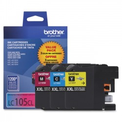 Brother International - LC1053PKS - Brother LC1053PKS - Super High Yield - yellow, cyan, magenta - original - ink cartridge - for Brother MFC-J4310, J4410, J4510, J4610, J4710, J6520, J6720, J6920