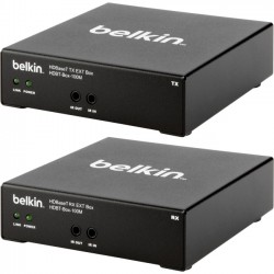Belkin / Linksys - HDBT-BOX-100M - Belkin HDBaseT TX/RX AV Extender Box - Video/audio/infrared extender - up to 328 ft