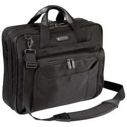 Targus - BUS0341 - Targus Corporate Traveler CUCT02UA14S Carrying Case for 14 Notebook - Black - Ballistic Nylon - Checkpoint Friendly - Shoulder Strap - 11.6 Height x 13.5 Width x 1.7 Depth