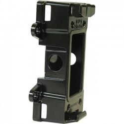 Moog / Videolarm - APM6B - MOOG Videolarm APM6 Mounting Adapter for Surveillance Camera - 50 lb Load Capacity - Aluminum - Black
