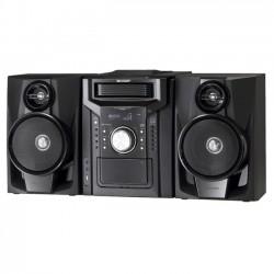 Sharp - CD-DH950P - Sharp CD-DH950P Mini Hi-Fi System - 240 W RMS - iPod Supported - Black - 40 Channel(s) - AM, FM - 2.1 Speaker(s) - CD-DA, MP3, WMA - Remote Control