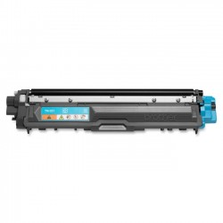 Brother International - TN221C - Brother Genuine TN221C Cyan Toner Cartridge - Laser - Standard Yield - 1400 Pages - Cyan - 1 Each