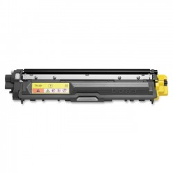 Brother International - TN221Y - Brother Genuine TN221Y Yellow Toner Cartridge - Laser - Standard Yield - 1400 Pages - Yellow - 1 Each