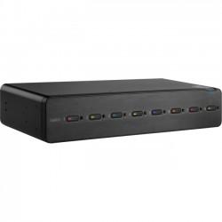 Belkin / Linksys - F1DN108F - Belkin Advanced Secure 8-Port Dual-Head DVI-I KVM - 8 Computer(s) - 1 Local User(s) - 2560 x 1600 - 2 x PS/2 Port - 11 x USB - 18 x DVI - Desktop