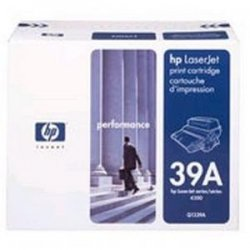 Verbatim / Smartdisk - 94809 - Verbatim Remanufactured Laser Toner Cartridge alternative for HP Q1339A - Black - Laser - 18000 Page - 1 / Pack