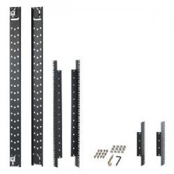 APC / Schneider Electric - AR7504 - APC 600mm Wide Recessed Rail Kit - Black