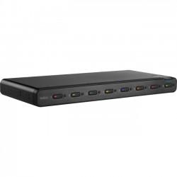 Belkin / Linksys - F1DN108C - Belkin Advanced Secure 8-Port DVI-I KVM - 8 Computer(s) - 1 Local User(s) - 2560 x 1600 - 2 x PS/2 Port - 11 x USB - 9 x DVI - Desktop