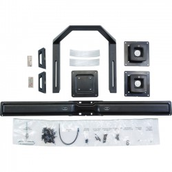 Ergotron - 97-783 - Ergotron Crossbar for Flat Panel Display - 17 to 24 Screen Support - 36 lb Load Capacity - Black