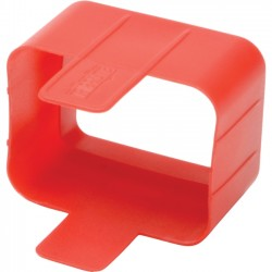 Tripp Lite - PLC19RD - Tripp Lite PDU Plug Lock Connector C20 Power Cord to C19 Outlet Red 100pk