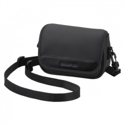 Olympus - 202466 - Olympus Carrying Case for Camera - Black - Shoulder Strap, Belt Loop - 4.7 Height x 2.9 Width x 6.9 Depth