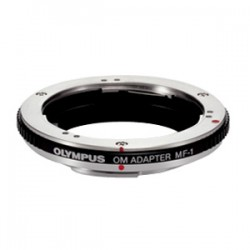 Olympus - 260231 - Olympus MF-1 OM Lens Adapter - Front Mount
