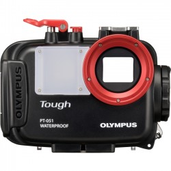 Olympus - 202489 - Olympus PT-051 Underwater Camera Housing - Black