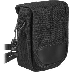Olympus - 202513 - Olympus Carrying Case for Camera, Accessories - Black - Nylon - Belt Loop, Shoulder Strap - 5 Height x 3.5 Width x 2 Depth
