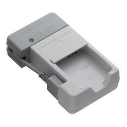Olympus - V621036XW000 - Olympus UC-90 Lithium-Ion Battery Charger for LI-90B - 110 V AC, 220 V AC, 5 V DC Input - Input connectors: USB - AC Plug