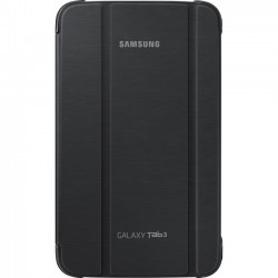 Samsung - EF-BT310BBEGUJ - Samsung Carrying Case (Book Fold) for 8 Tablet - Black - Synthetic Leather - 8.3 Height x 5 Width x 0.4 Depth
