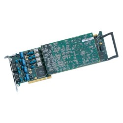 Dialogic - 887-492 - Dialogic 4-Port Analog, Loop-Start, PCIe - PCI, PCI Express - 4 x Phone Line (RJ-11) - Plug-in Card