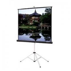 Da-Lite - 30657 - Da-Lite Picture King Portable and Tripod Projection Screen - 84 x 84 - Video Spectra 1.5 - 119 Diagonal