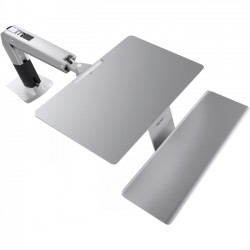 Ergotron - 24-414-227 - Ergotron WorkFit-A Mounting Arm for iMac - 21.5 to 27 Screen Support - 27.50 lb Load Capacity - Aluminum - Silver