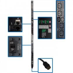 Tripp Lite - PDU3VSR6H50A - Tripp Lite PDU 3-Phase Switched 208V 14.4kW Hubbell 6 C13; 12 C19 0URM - 12.6kW Hubbell 24 C13; 6 C19 0URM TAA