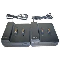 Fujitsu - FPCBC035AP - Fujitsu Battery Charging Station - 110 V AC, 220 V AC Input - AC Plug - 2