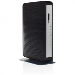 Netgear - N450-100NAS - Netgear N450 IEEE 802.11n Cable Modem/Wireless Router - 2.40 GHz ISM Band - 450 Mbit/s Wireless Speed - 4 x Network Port - USB - Gigabit Ethernet - Desktop