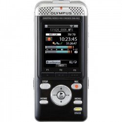 Olympus - V407141BU000 - Olympus DM-901 4GB Digital Voice Recorder - 4 GB Flash Memory - 2 LCD - Headphone - 850 HourspeaceRecording Time - Portable