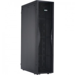 Panduit - S622C122B - Panduit Net-SERV Rack Cabinet - 42U Wide x 42 Deep Floor Standing - Black - 2500 lb x Maximum Weight Capacity