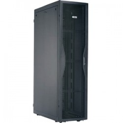 Panduit - S652C122B - Panduit Net-SERV Rack Cabinet - 19 45U Wide x 42 Deep Floor Standing - Black - 2500 lb x Maximum Weight Capacity