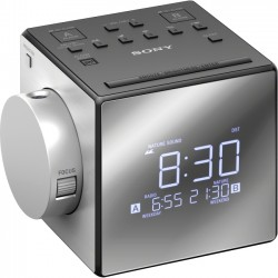 Sony - ICFC1PJ - Sony Clock Radio - 100 mW RMS - Mono - 2 x Alarm - AM, FM - USB - Manual Snooze