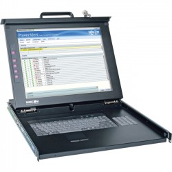 Tripp Lite - 0SU52088 - Network Console, PS/2, USB & KVM Switches, 17 LCD Panel, Touch Pad