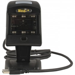 Wasp Barcode - 633808121730 - Wasp WPS200 Omni-Directional Barcode Scanner - Cable Connectivity - 7 Scan Distance - 1D, 2D - Imager - Omni-directional