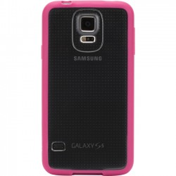 Griffin Technology - GB39052 - Griffin Reveal for Samsung Galaxy S5 - Smartphone - Hot Pink, Clear - Two-tone - Polycarbonate, Rubber
