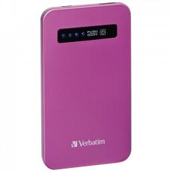 Verbatim / Smartdisk - 98452 - Verbatim Ultra-Slim Power Pack, 4200mAh - Pink