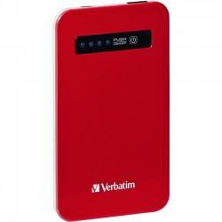 Verbatim / Smartdisk - 98453 - Verbatim Ultra-Slim Power Pack, 4200mAh - Red