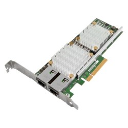 Lenovo - 00D2026 - Lenovo NetXtreme 10Gigabit Ethernet Card - PCI Express x8 - 2 Port(s) - 2 x Network (RJ-45) - Twisted Pair - Low-profile - Half-length