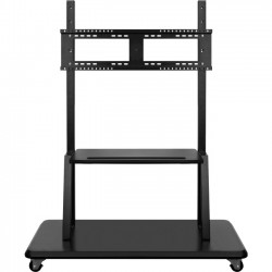 Viewsonic - LB-STND-003 - Viewsonic Rolling Trolley Cart Stand For Commercial Displays - Up to 70 Screen Support - Interactive Display Display Type Supported - Floor Stand - Black