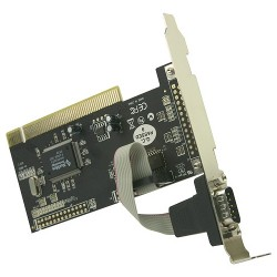 Rosewill - RC-300 - Rosewill Single Serial Port PCI Card Model RC-300 - Plug-in Card - PCI - PC - 1 x Number of Serial Ports External