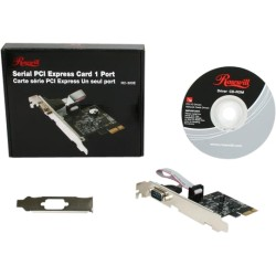 Rosewill - RC-300E - Rosewill PCIe Serial Card 1 Port Model RC-300E - 1 Pack - Plug-in Card - PCI Express - PC - 1 x Number of Serial Ports External