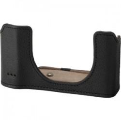 Olympus - V600081BW000 - Olympus Full Cover Leather Body Jacket for SH-1 Camera CSCH-120 (Black) - Black