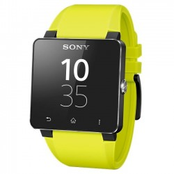 Sony - 1276-4014 - Sony SmartWatch 2 Wrist Strap SE20 - 1 - 0.9 Width Length - Yellow - Rubber, Silicon