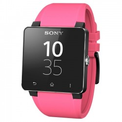 Sony - 1276-4015 - Sony SmartWatch 2 Wrist Strap SE20 - 1 - 0.9 Width Length - Pink - Rubber, Silicon