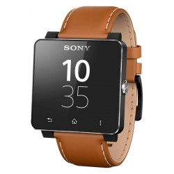 Sony - 1276-4048 - Sony SmartWatch 2 Wrist Strap SE20 - Light Brown Leather - 1 - 0.9 Width Length - Light Brown